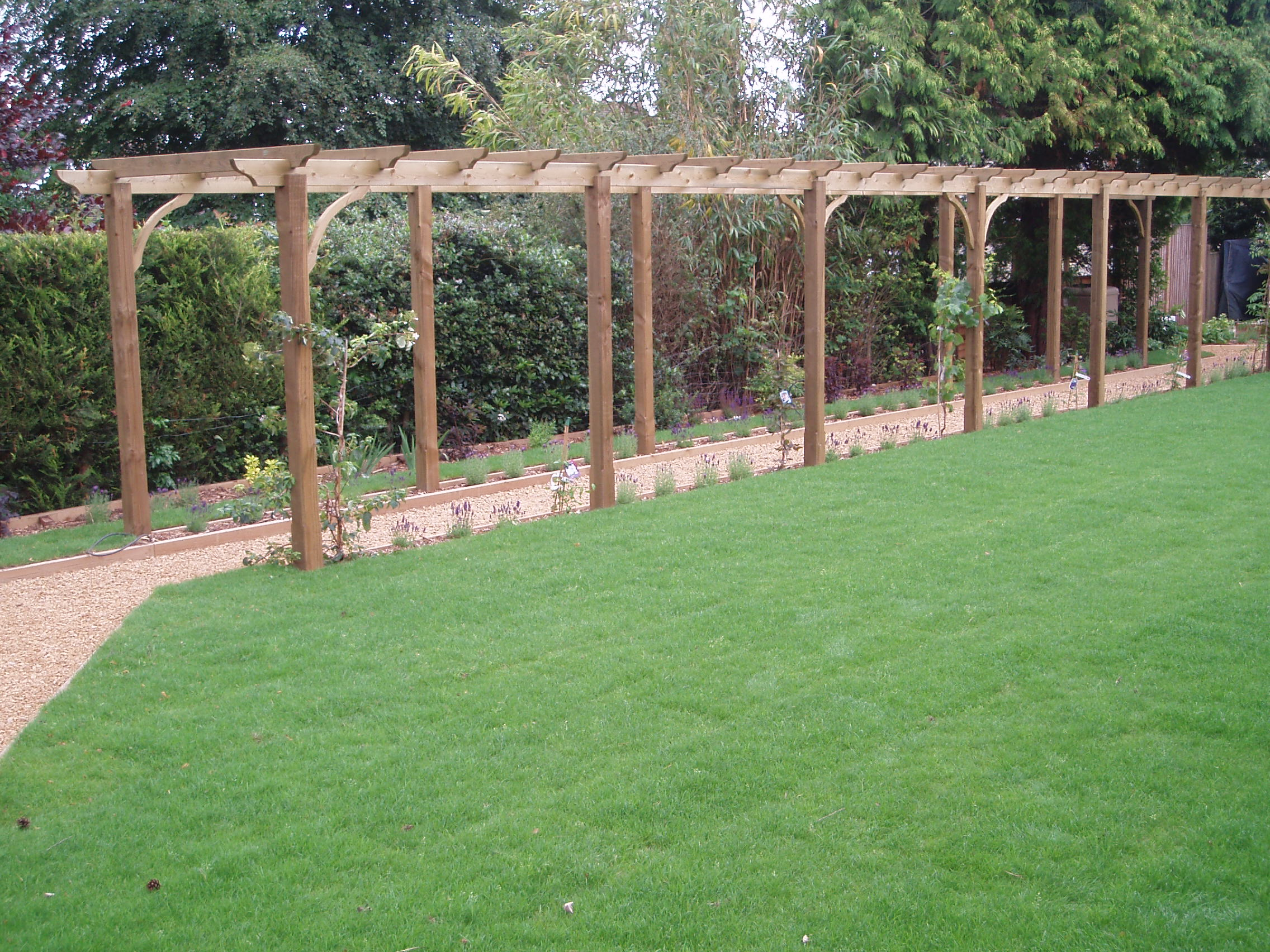 Adl Timber Structures Pergolas Garden Landscaping